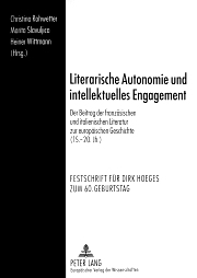 Dirk Hoeges - Festschrift